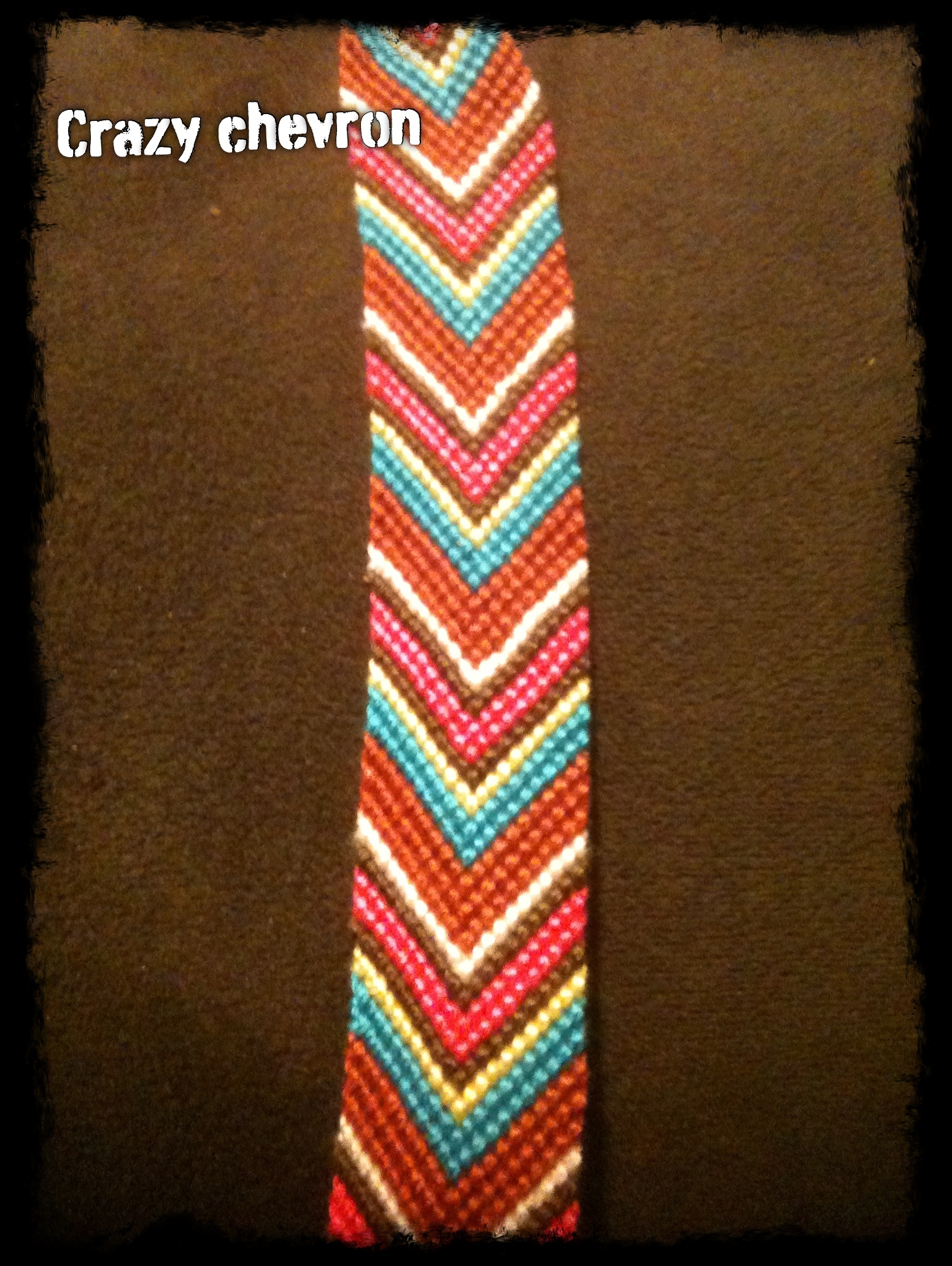 Crazy Chevron Bracelet